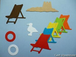 EXCLUSIVE BEACH HUT / SURF SHACK ACCESSORY DIE CUT SET **SPECIAL OFFER**