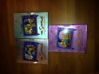 Simpsons complete 1st, 2nd and 3rd seasons on dvd