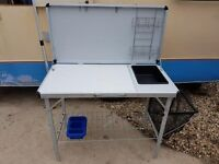 Gelert camping kitchen table workstation.