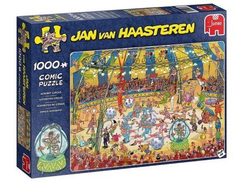 Jumbo Jan Van Haasteren 1000 Piece Jigsaw Puzzle - Acrobat Circus