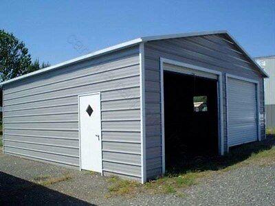 Pre-fab Steel Building A-frame Carports Garage Shops