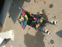 Small child size stroller, good condition!