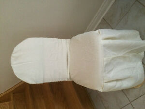Ivory Banquet Hall Chair Cover for sale $4.50