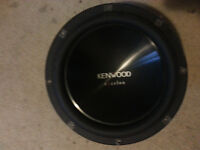 Kenwood Excelon KFC-XW12 subwoofer OBO (serious inquiries only)