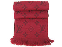 Louis Vuitton scarf Red