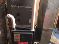 Furance and water heater change outs