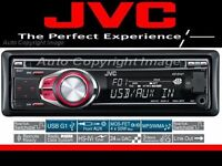 · JVC KD-R401 CD / MP3 / USB car stereo with aux input as new RRP 159.99