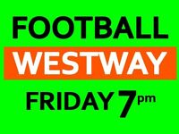 Need few players for friendly football game this Friday in West London