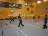 Badminton club in London- sociable and good exercise