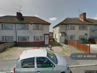 2 bedroom flat in Canterbury Ave, Slough, SL2 (2 bed)
