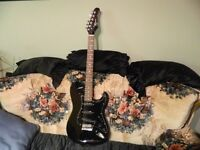 Robson Electric Guitar & strap in excellent condition