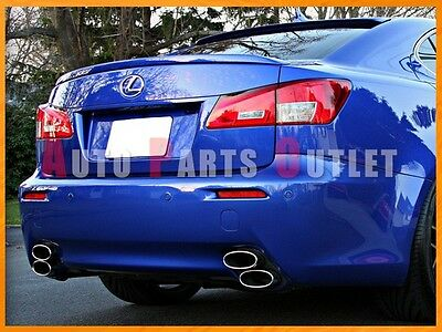Lexus IS250 Trunk Deck Lip Spoiler OE Type IS350 2006-2013