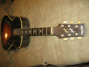 RADIOTONE Archtop solid woods made in 1937 Gatineau Ottawa / Gatineau Area image 6