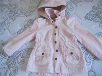 Manteau d'automne grandeur 4-5 ans