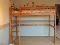 IKEA Vradal high loft bed