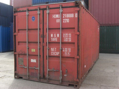 20ft Used Shipping Container In Cargo-worthy Condition Chicago Il