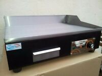 Electric Hotplate Commercial Griddle Brand New With Normal Plug 55cm