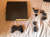 PS3 fully working with leads and controller