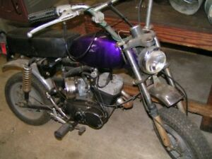 1973-75 AMF HD X-90 Mini Bikes 'Restoration Project'