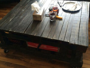 ****Pallet Table****