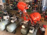 Petrol or Electric Cement Mixer Heavy Duty