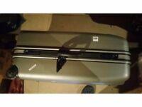 Antler Silver hard Suitcase