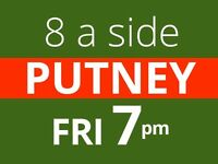 Friday 7pm Friendly 7/8 a side football game at Southfields needs players
