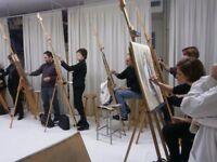 Revolutionary life modelling workshop - Pose&paint