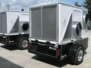 Trailer Mounted 10 Ton Portable Air Conditioning Units For Rent