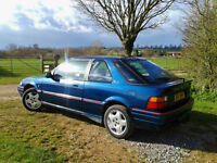 Rover 216 GTi, 1993, 3 door, 1598cc Honda engine 2 owners only, 138000 miles, tow bar, rare model.