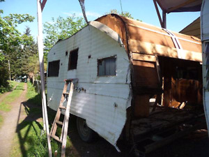 Scrap Trailer and Motorhome removal