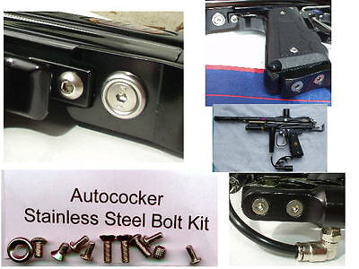 Paintball Autococker S/S Bolt Kit -COMPETITION UPGRADE!