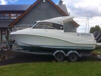 Quicksilver 640 Weekend 2009, 115hp Mercury EFI. Boat / Cruiser / Fishing Boat