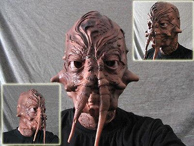 Latexmaske ALIEN INSEKT - Horror Effekt Gummi Latex Maske Zombie SF WoW Klaxxi