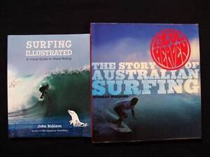 Surfing Books: How To Surf + Story of Australian Surfing Loganholme Logan Area Preview