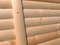 PINE ROUND LOG SIDDING 1X6, 2X6, 2X8, 2X10, 2X12 T&G
