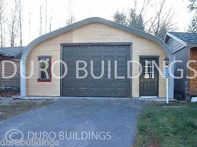 Durospan Steel 30x75x14 Metal Building Diy Home Garage Shop Kit Open Ends Direct