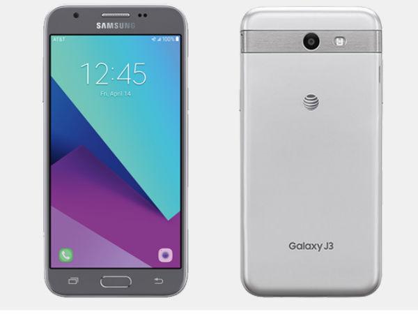 Htc One - Unlocked Samsung Galaxy J3 Express Prime 2 SM-J327A 16GB (2017) Phone - Silver