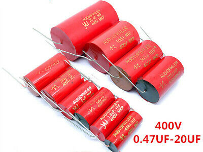 Audiophiler Mkp 400v 0.4712.24.75.68.2101220uf Audio Mkp Capacitor Red