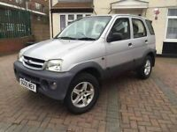 Daihatsu Terios Tracker 1.3 Petrol 2005 35k ONLY BRAND NEW tyres 1.OWNER SINCE NEW 1 year MOT