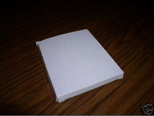 150 NEW WHITE CARDBOARD CD JEWEL CASE MAILERS, JS7