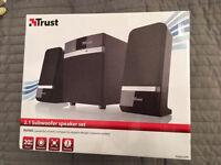 USB powered, aux input speakers for TV speakers, PC speakers, laptop speakers