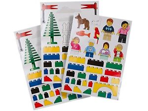 LEGO Giant Wall Stickers Decoration Room Decals NEW