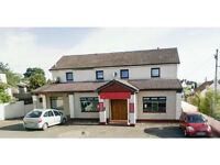 1 available bedsit in newly refurbished (Stones hotel) in main street Blantyre