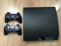 PS3 160GB with 2 Controllers and 20 Games