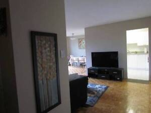 2 bedroom apartment with FREE FURNITURE for rent near downtown.