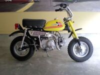 1976 Honda Z-50 Yellow *Wanted*