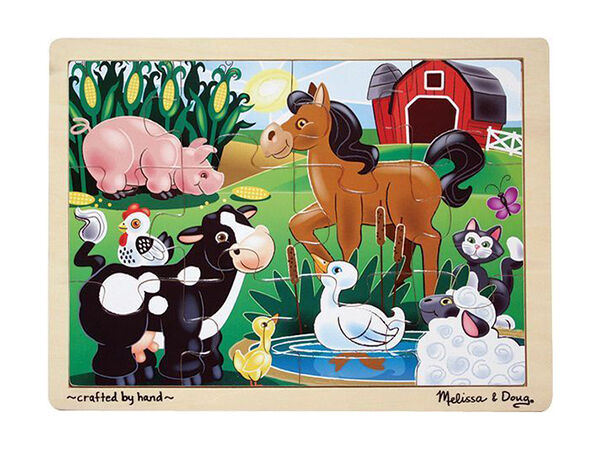 Melissa and Doug on the Farm Puzzle