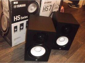 Pair of Yamaha HS7 Speakers Monitors
