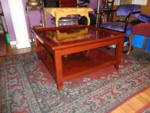 VERY NICE DONGQUAN HONGXIN EXTRA LARGE SOLID WOOD COFFEE TABLE